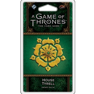 Fantasy Flight A Game of Thrones LCG : House Tyrell intro deck