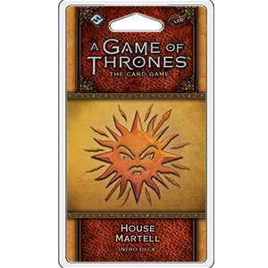 Fantasy Flight A Game of Thrones LCG : House Martell intro deck