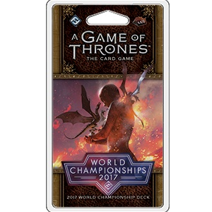 Fantasy Flight A Game of Thrones LCG: World championships 2017