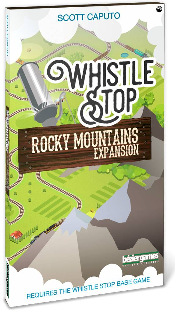 Bezier Games Whistle Stop: Rocky Mountian Expansion (30% off)