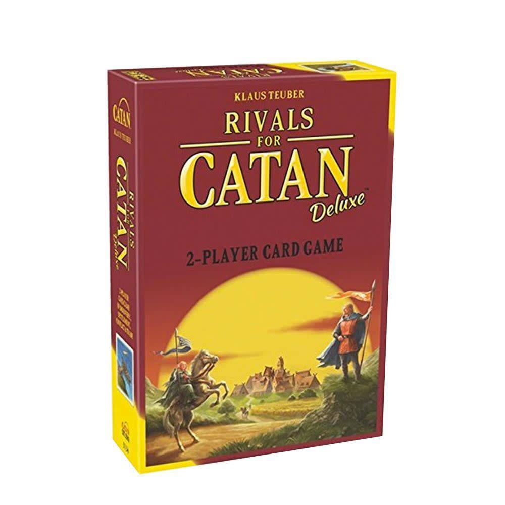 Catan Studio Rivals for Catan: Deluxe 2 player card game