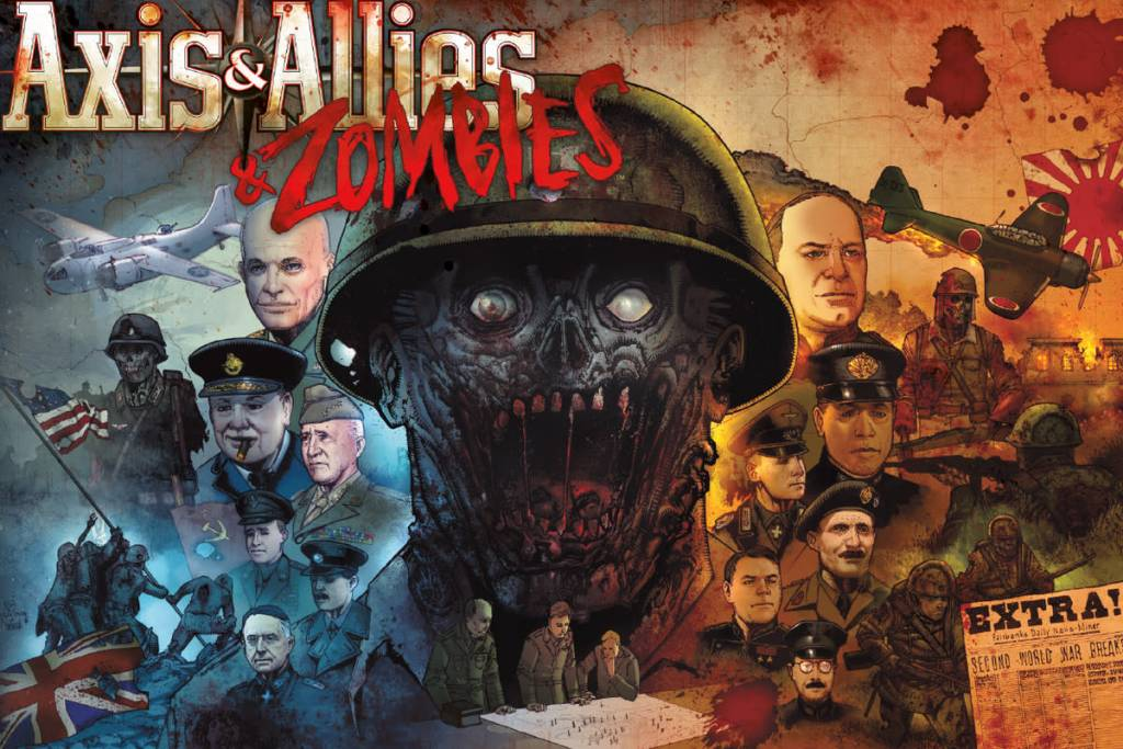 Avalon Hill Axes & Allies & Zombies