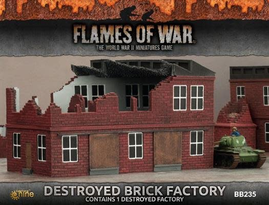 Battlefront FOW: Destroyed Brick Factory