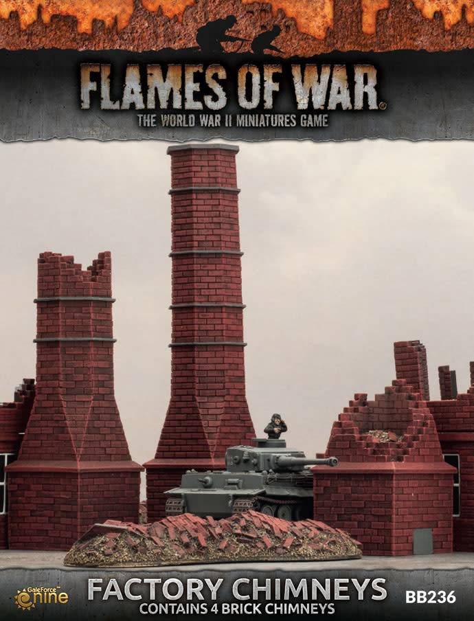 Battlefront FOW: Factory Chimney
