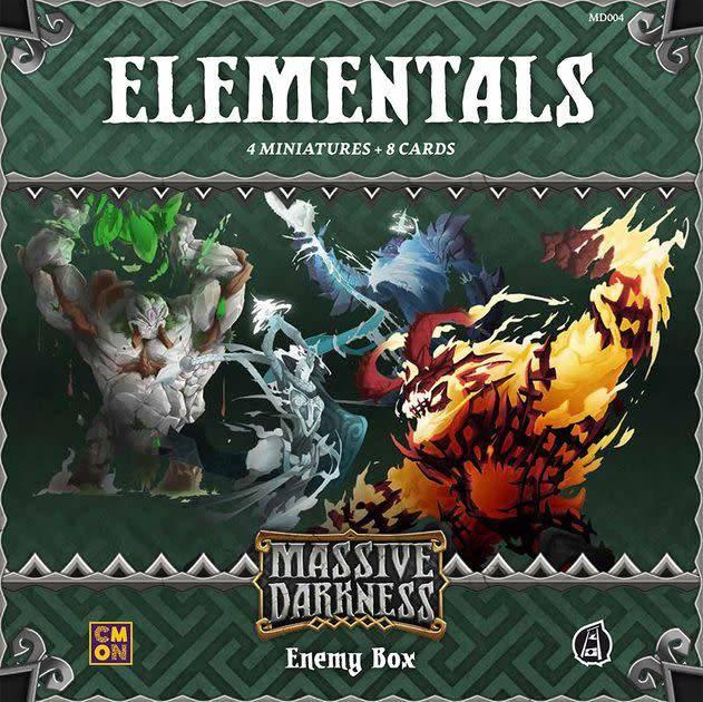 CMON Massive Darkness: Elementals Enemy box