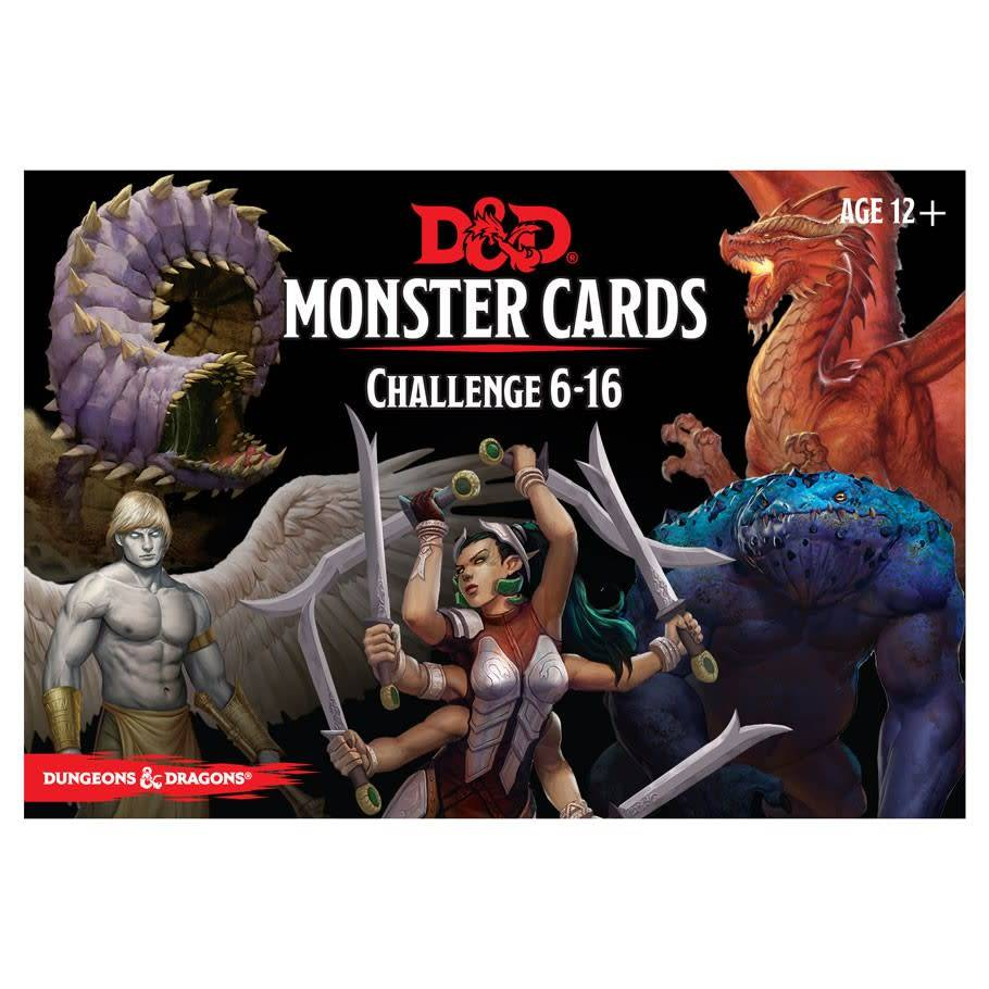 Wizards of the Coast D&D RPG Monster Cards: Challenge 6-16