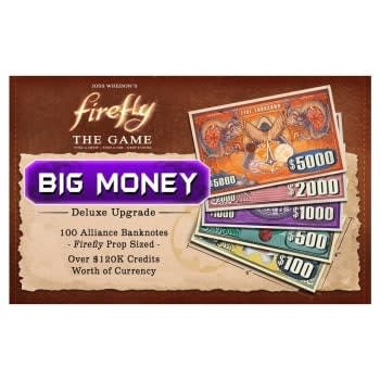 """Gale Force Nine Firefly The Game: """"Big Money"""" Upgrade Pack"""