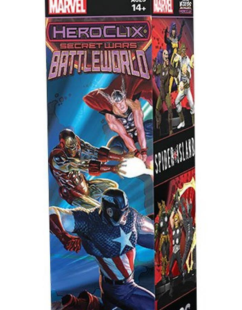 Wizkids Heroclix: Secret Wars Battleworld
