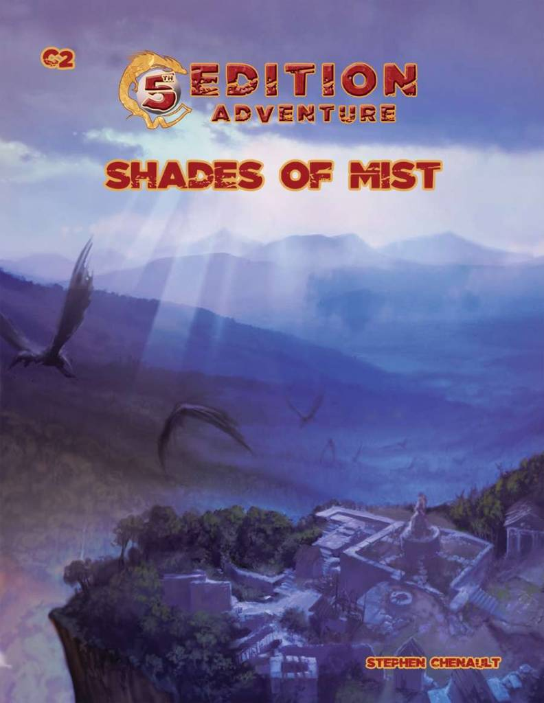 Troll lord games 5th Edition Adventure: Shades of the mist
