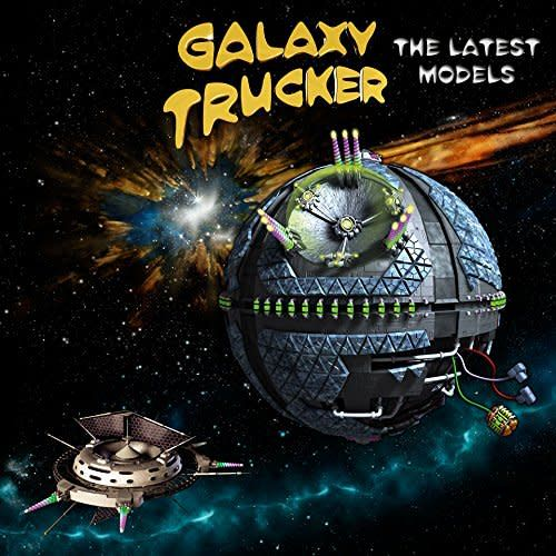 CGE Galaxy Trucker: The Latest Models Expansion