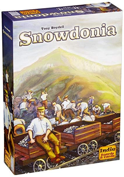 Indie boards & cards Snowdonia