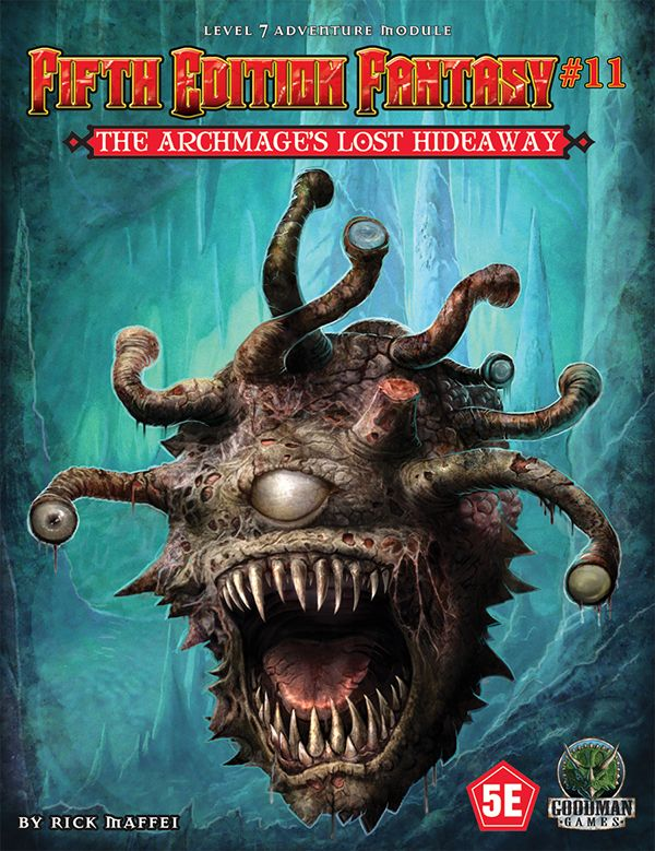 Goodman Games Fifth Ed Fantasy: #11 Archmages Lost Hideaway