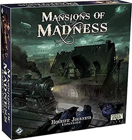 Fantasy Flight Mansions of Madness 2nd ed:  Horrific Journeys