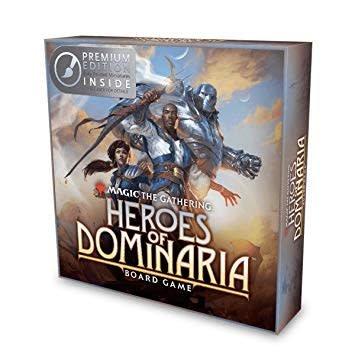 Wizkids Heroes of Dominaria MTG board game Premium Edition