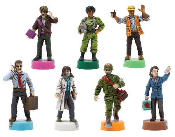 Zman Pandemic: 10th anniversary painted figures