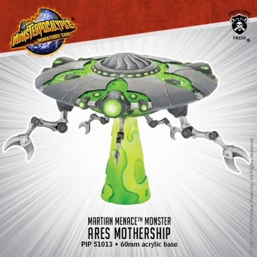 Privateer Press Monsterpocalypse: Ares Mothership- Martian Menace
