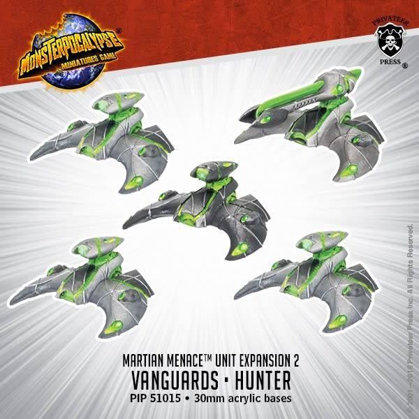 Privateer Press Monsterpocalypse: Vanguards, Hunters- Martain Menace