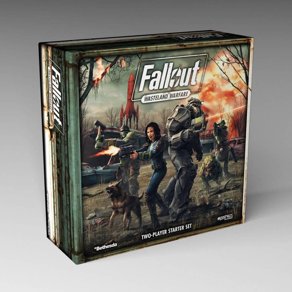 Modiphius Fallout Wasteland Warfare: Two Player Starter