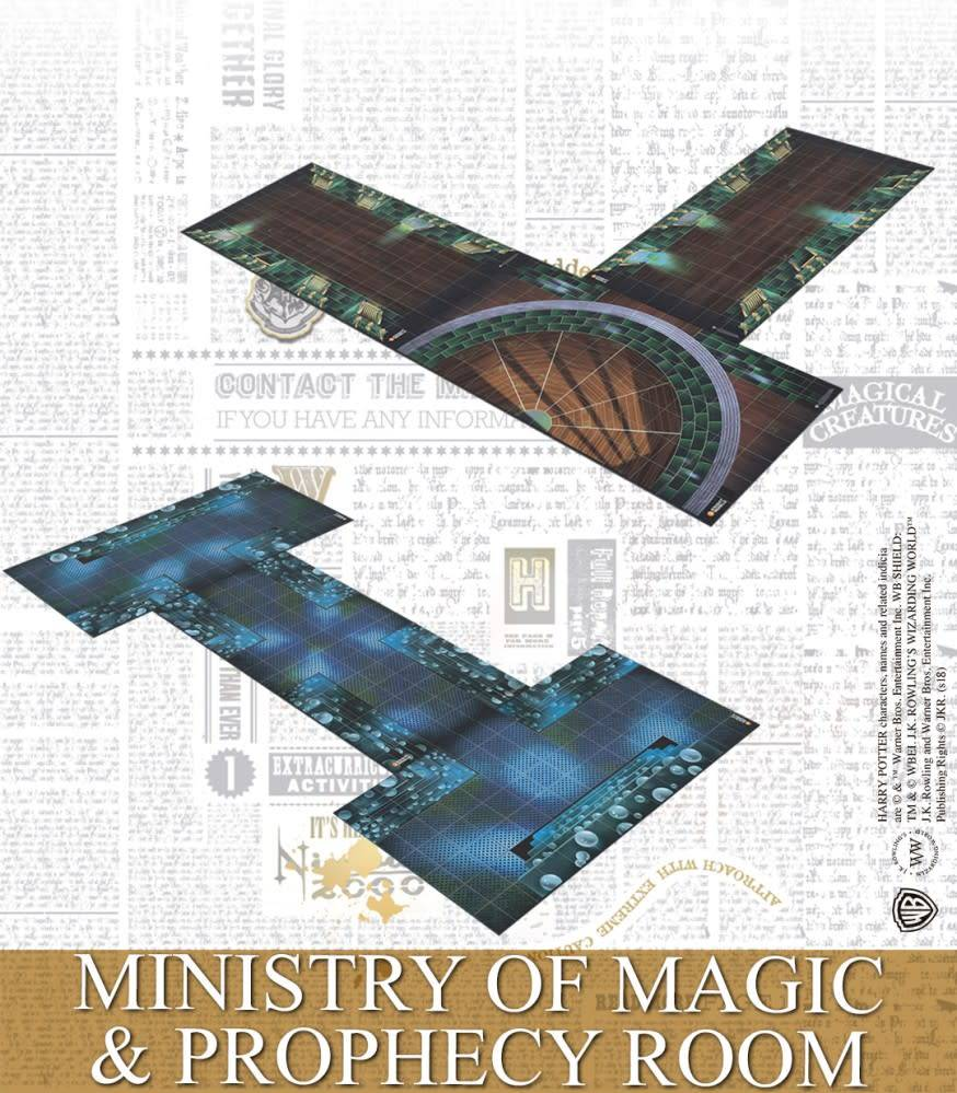 Knight Models Harry Potter Miniatures Adventure Game: Ministry of Magic & Prophecy Room