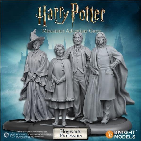 Knight Models Harry Potter Miniatures Adventure Game: Hogwarts Professors Pack