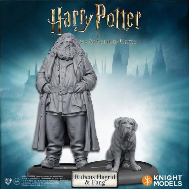 Knight Models Harry Potter Miniatures Adventure Game: Rubeus Hagrid