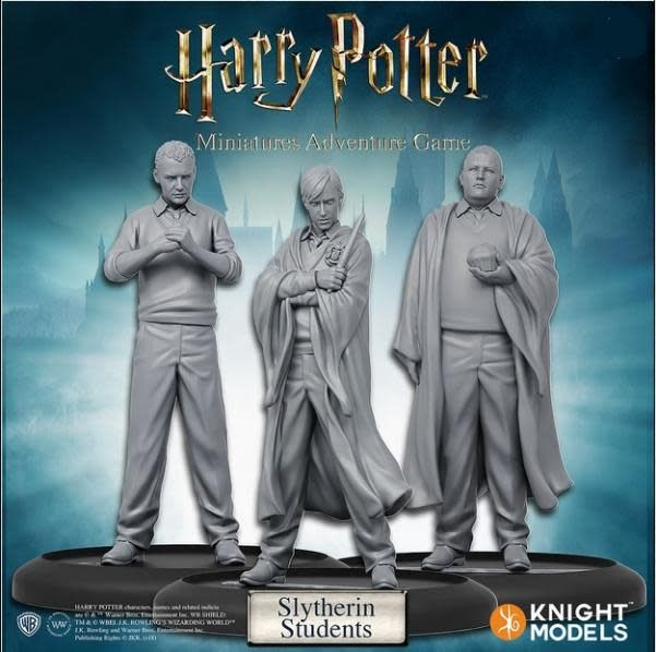 Knight Models Harry Potter Miniatures Adventure Game: Slytherin Students Pack