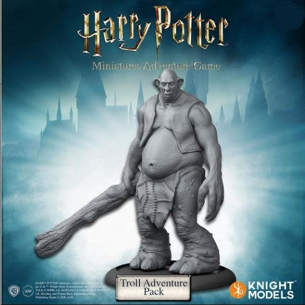 Knight Models Harry Potter Miniatures Adventure Game: Troll Adventure Pack