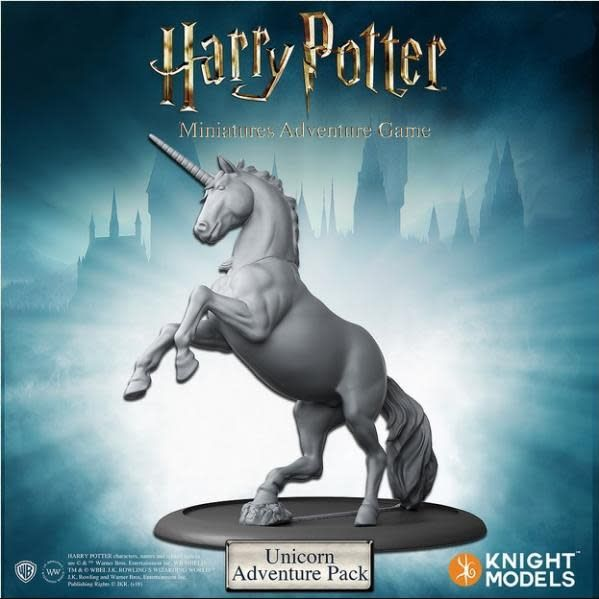 Knight Models Harry Potter Miniatures Adventure Game: Unicorn Adventure Pack