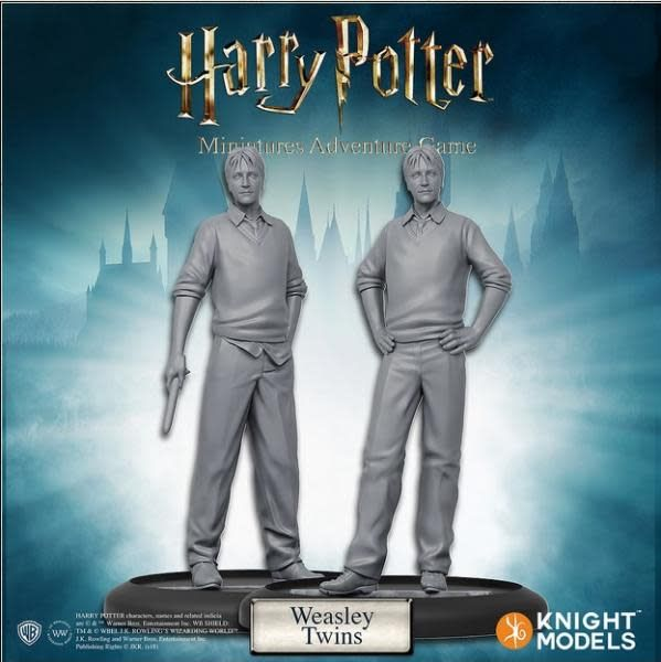 Knight Models Harry Potter Miniatures Adventure Game: Weasley Twins Pack