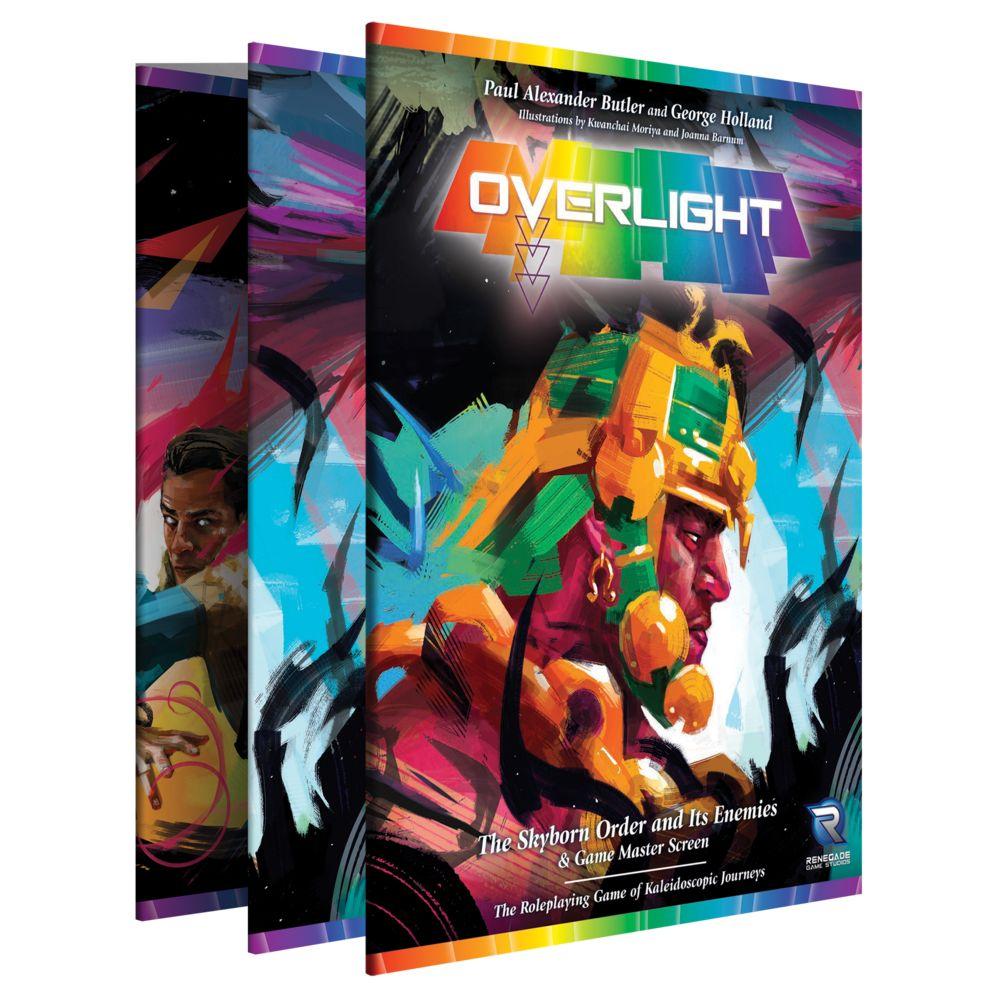 Renegade Overlight RPG: GM screen Skyborn order & Its Enemies