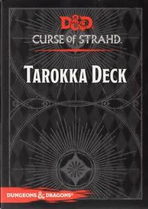 Gale Force Nine D&D RPG Spellbook Cards: Tarokka Deck