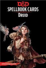 Gale Force Nine D&D RPG Spellbook Cards: Druid