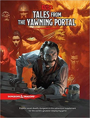 Wizards of the Coast D&D RPG Book: Tales from the Yawning Portal