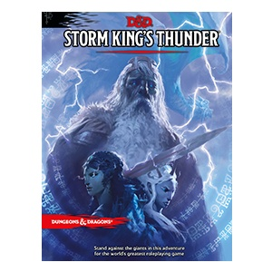 Wizards of the Coast D&D RPG Book: Storm King's Thunder