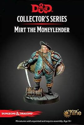 Gale Force Nine D&D Collector series Mini: Mirt the Moneymaker