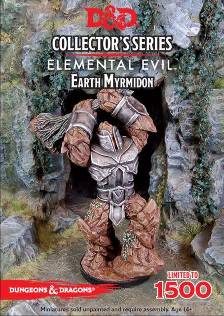 Gale Force Nine D&D Collector Series Mini: Earth Myrmidon