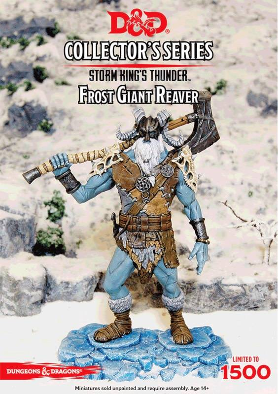 Gale Force Nine D&D Collector Series Mini: Frost Giant Reaver