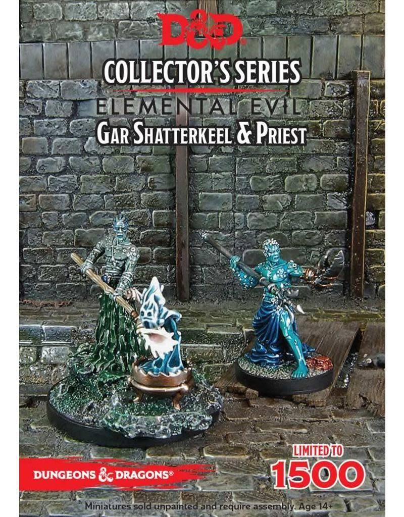 Gale Force Nine D&D Collector Series Mini: Gar Shatterkeel & Priest