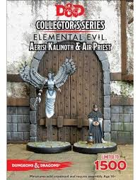 Gale Force Nine D&D Collector Series Mini: Aerisi Kalinoth & Air Priest