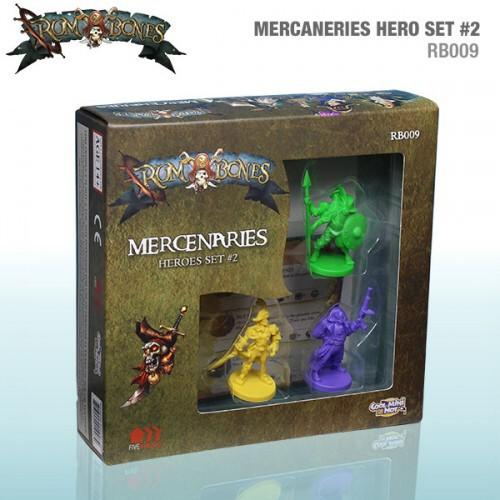 CMON Rum & Bones: Mercenaries Hero Set #2