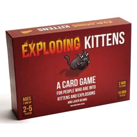 Ad magic Exploding Kittens
