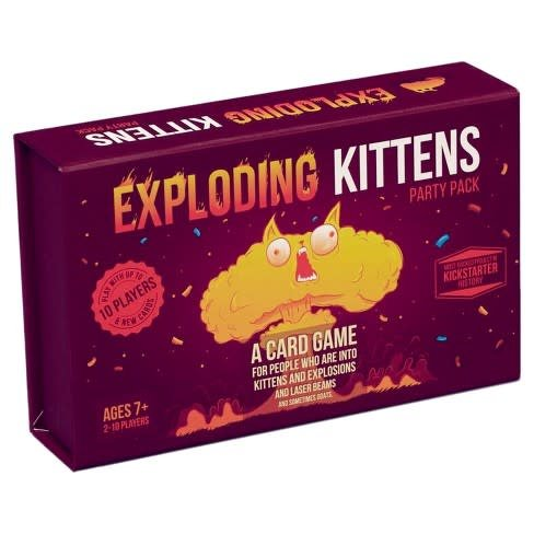 Ad magic Exploding Kittens: Party Pack