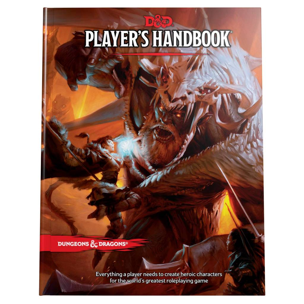 Wizards of the Coast D&D RPG Book: Player's Handbook 5th Ed