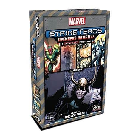 Wizkids Heroclix Marvel Strike Team: Avengers Initiative
