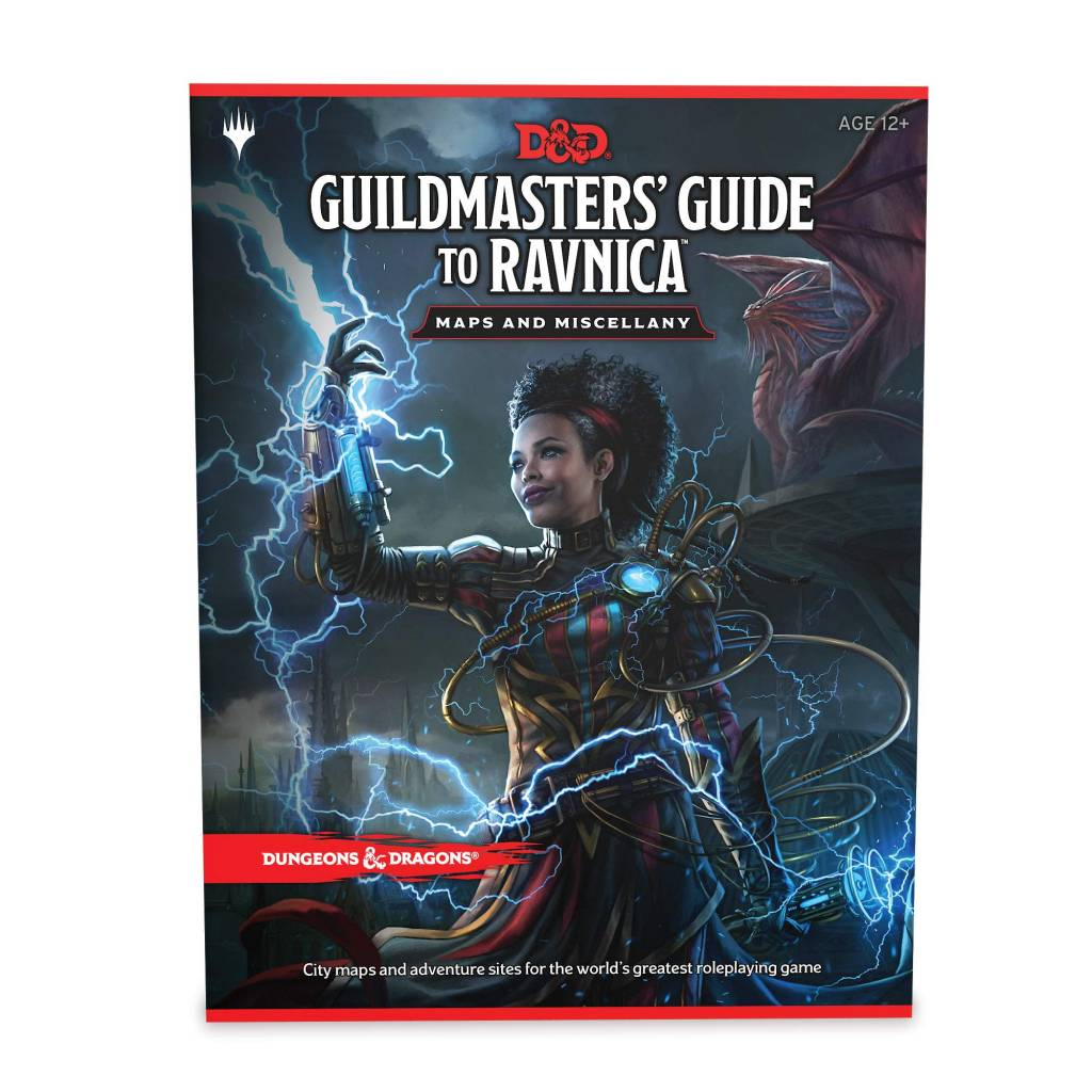 Wizards of the Coast D&D RPG Maps: Guildmasters' guide to Ravnica Maps & Miscellany