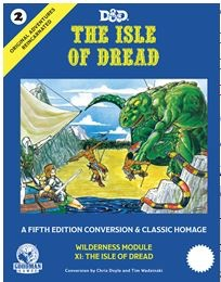 Goodman Games D&D RPG Book: The Isle of Dread