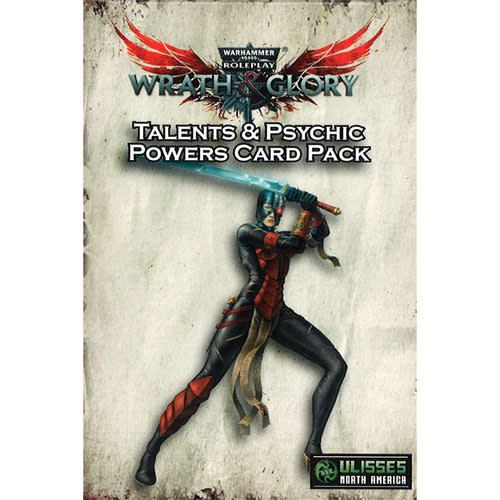 Ulisses North America Warhammer 40K RPG: Wrath & Glory Talents & Psychic Powers Card Pack