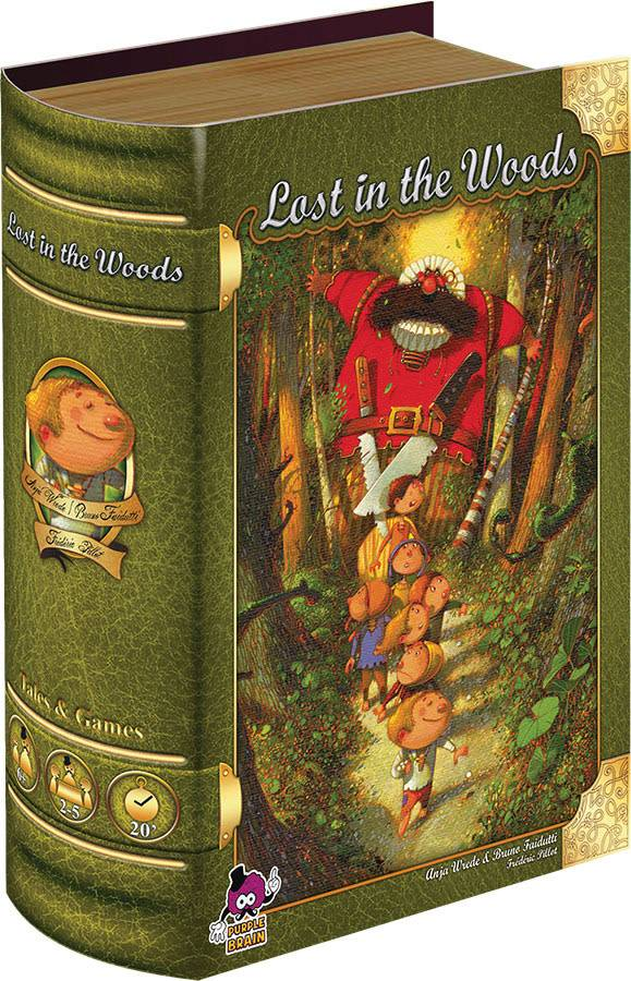 Purple Brain Tales & Games: Lost in the Woods