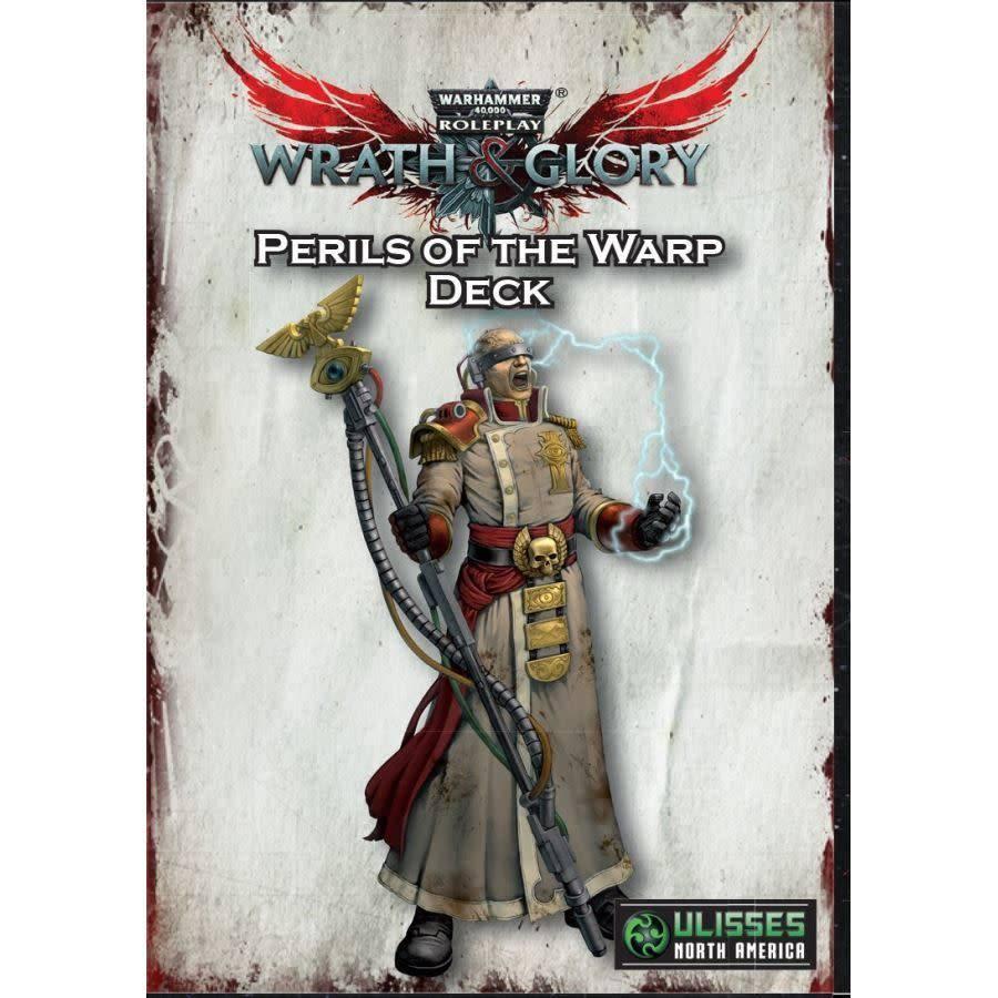 Ulisses North America Warhammer 40k RPG: Wrath & Glory Perils of the Warp Deck