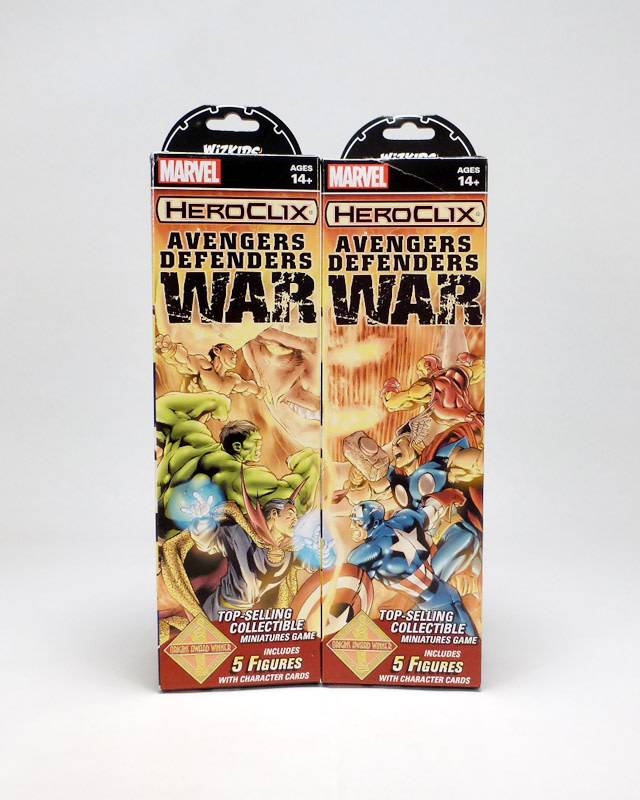 Wizkids Marvel Heroclix: Avengers Defenders War